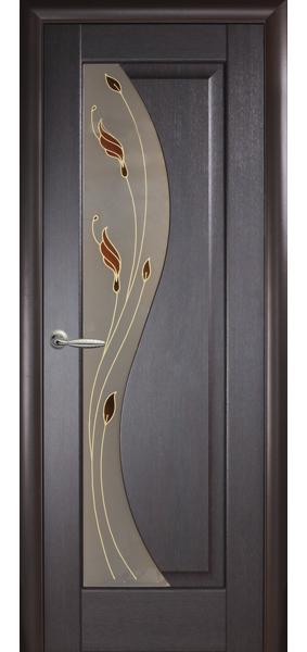 межкомнатная дверь новый стиль коллекция маэстра эскада венге